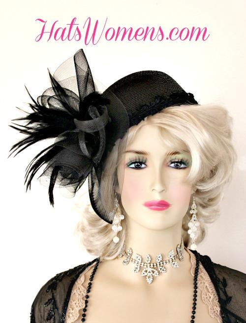 Women s Kelly Green Cocktail Hat Wedding Pillbox Cloche Formal ... d8c0ccece80