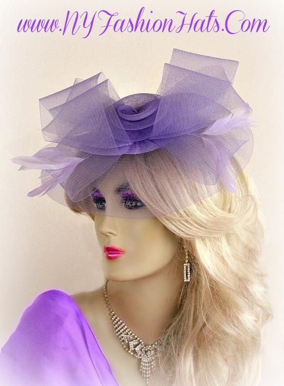 Ladies Black Crinoline Comb Cocktail Hat Wedding Bridal Brides ... 9f92014523b4