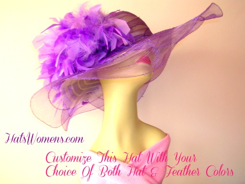 Create Your Own Designer Hat – Customizable – Dress Hats For Women 4e1070738bdf