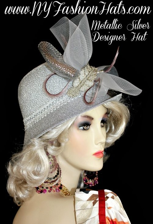Bridal Couture Wedding Hats Woman – Page 2 – Dress Hats For Women b582d15bb11b