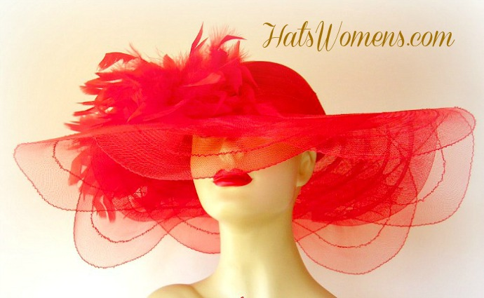 Fashion Hats Kelly Green White Red Pink Black Women S Wedding