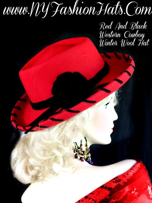 Ladies Mauve Rose Pink Or Beige Cowboy Western Wool Hat Winter ... 2f54a24a392